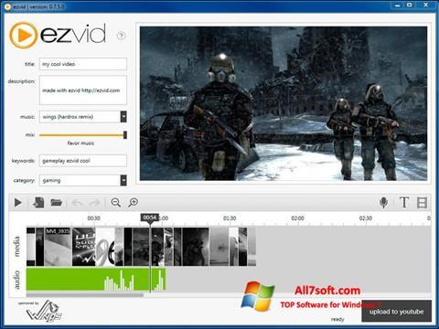 Ekran görüntüsü Ezvid Windows 7