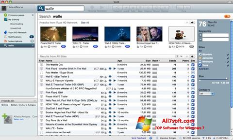 Ekran görüntüsü Vuze Windows 7