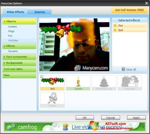 Ekran görüntüsü ManyCam Windows 7