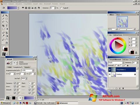 Ekran görüntüsü Artweaver Windows 7