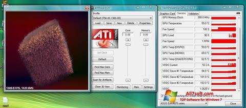 Ekran görüntüsü ATITool Windows 7