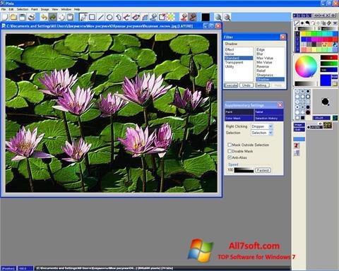 Ekran görüntüsü Pixia Windows 7