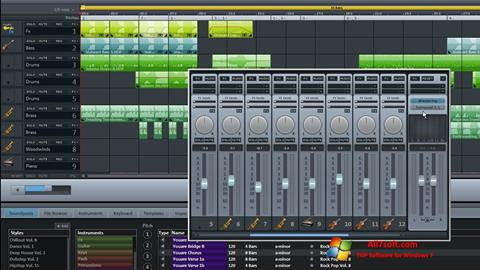 Ekran görüntüsü MAGIX Music Maker Windows 7