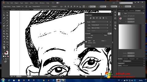 Ekran görüntüsü Adobe Illustrator CC Windows 7