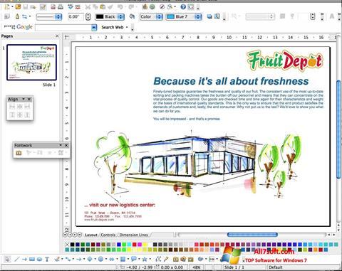 Ekran görüntüsü Apache OpenOffice Windows 7