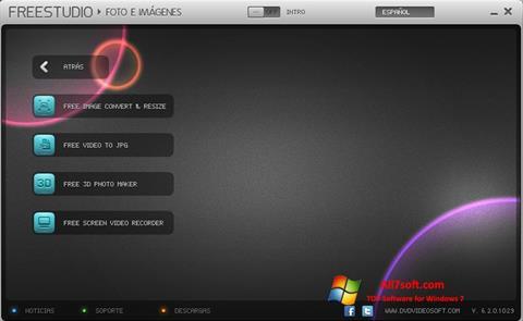 Ekran görüntüsü Free Studio Windows 7