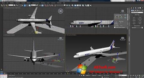 Ekran görüntüsü 3ds Max Windows 7