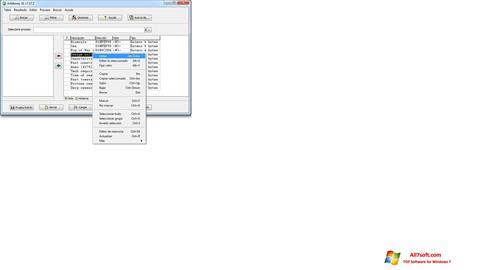 Ekran görüntüsü ArtMoney Pro Windows 7