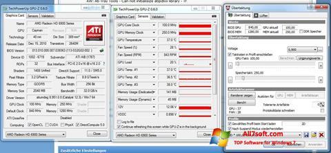 Ekran görüntüsü ATI Tray Tools Windows 7