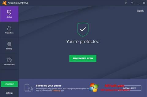 Ekran görüntüsü Avast Free Antivirus Windows 7