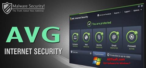 Ekran görüntüsü AVG Internet Security Windows 7