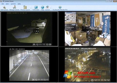 Ekran görüntüsü IP Camera Viewer Windows 7