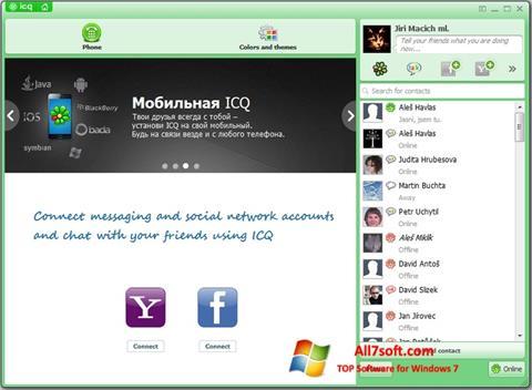 Ekran görüntüsü ICQ Windows 7
