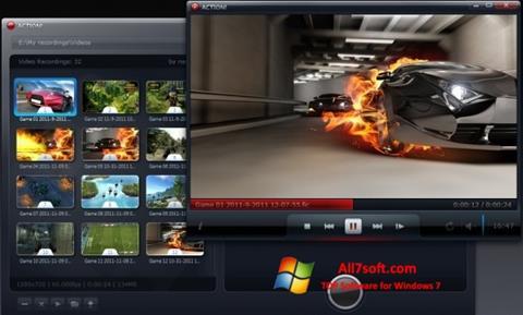 Ekran görüntüsü Action! Windows 7