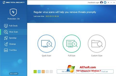 Ekran görüntüsü 360 Total Security Windows 7