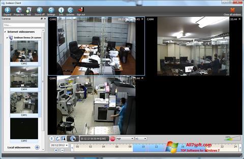 Ekran görüntüsü Ivideon Server Windows 7