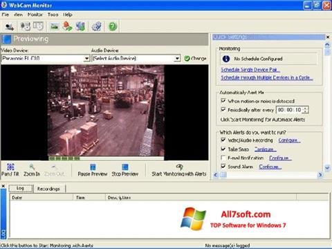 Ekran görüntüsü WebCam Monitor Windows 7