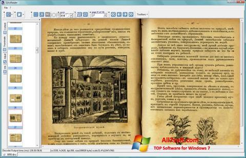 Ekran görüntüsü DjVu Reader Windows 7