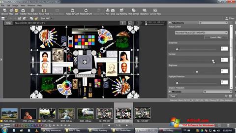 Ekran görüntüsü ViewNX Windows 7