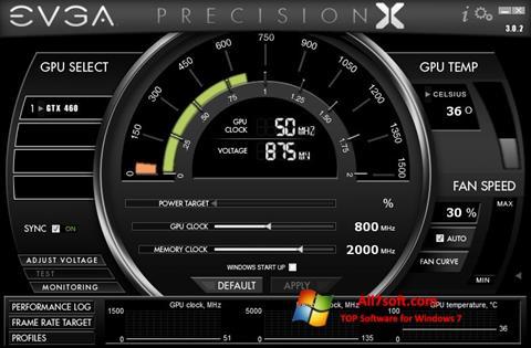 Ekran görüntüsü EVGA Precision X Windows 7