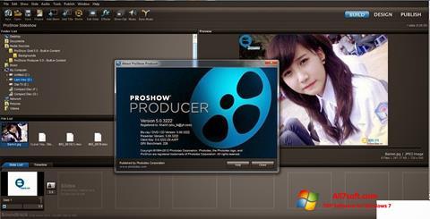 Ekran görüntüsü ProShow Producer Windows 7