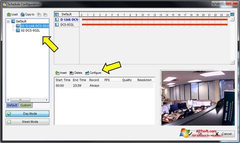 Ekran görüntüsü D-ViewCam Windows 7