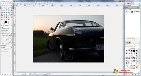 Ekran görüntüsü GIMP Windows 7
