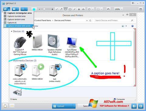 Ekran görüntüsü QIP Windows 7