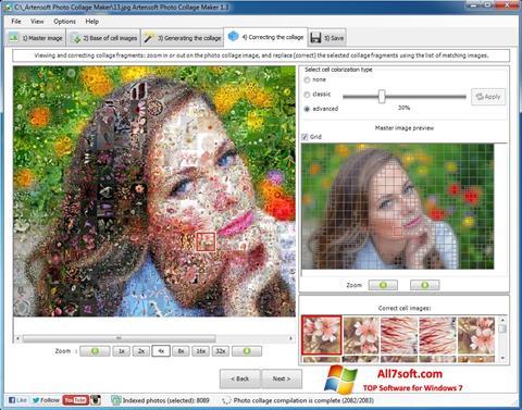 Ekran görüntüsü Photo Collage Maker Windows 7