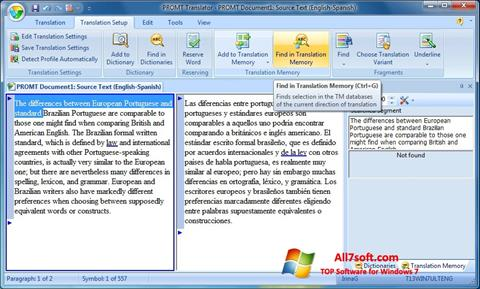 Ekran görüntüsü PROMT Windows 7