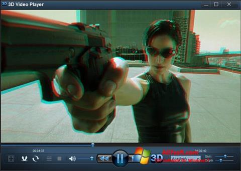 Ekran görüntüsü 3D Video Player Windows 7