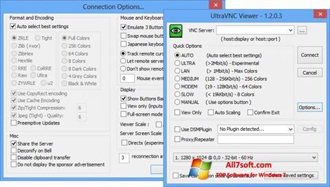 Ekran görüntüsü UltraVNC Windows 7