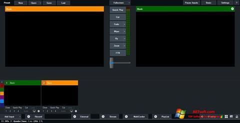 Ekran görüntüsü vMix Windows 7