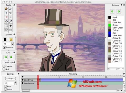 Ekran görüntüsü Pencil Windows 7