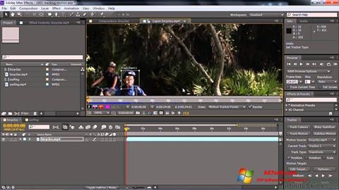 Ekran görüntüsü Adobe After Effects CC Windows 7