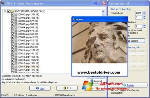 Ekran görüntüsü Zero Assumption Recovery Windows 7