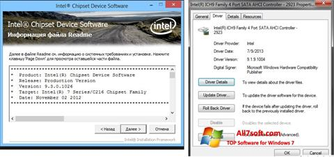 Ekran görüntüsü Intel Chipset Windows 7