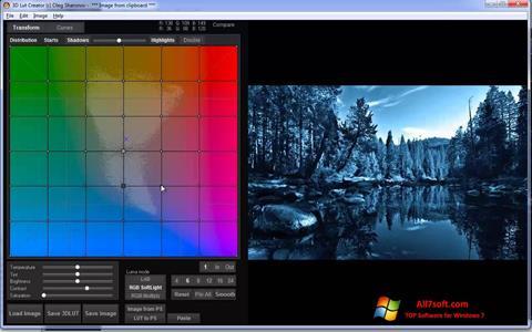 Ekran görüntüsü 3D LUT Creator Windows 7