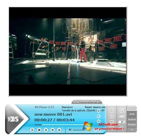 Ekran görüntüsü BSPlayer Windows 7