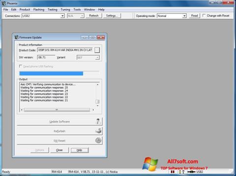 Ekran görüntüsü Phoenix Windows 7