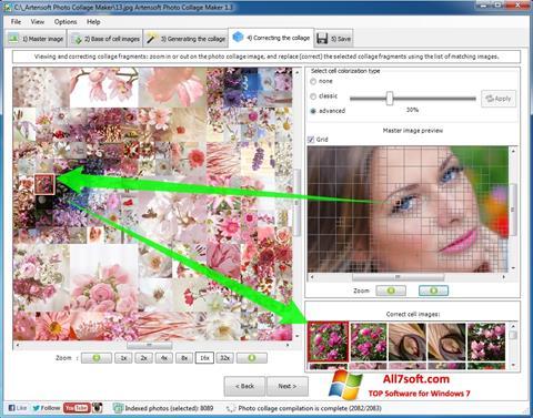 Ekran görüntüsü Photo Collage Windows 7