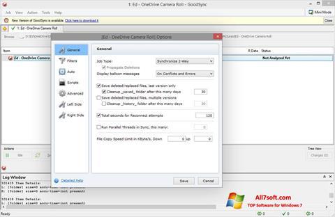 Ekran görüntüsü GoodSync Windows 7