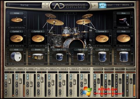 Ekran görüntüsü Addictive Drums Windows 7