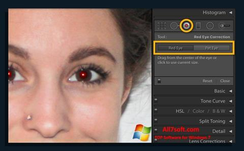 Ekran görüntüsü Red Eye Remover Windows 7
