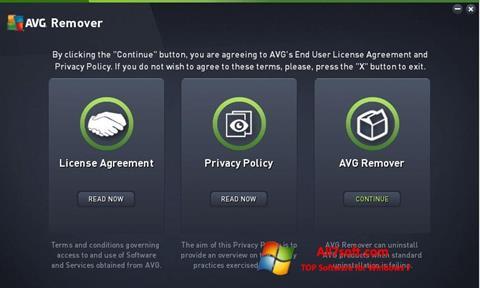 Ekran görüntüsü AVG Remover Windows 7