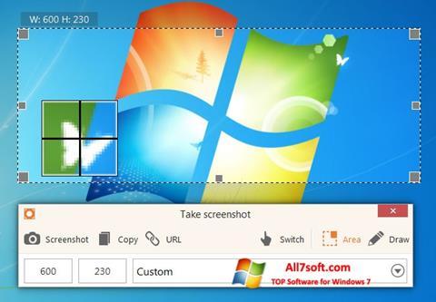 Ekran görüntüsü ScreenShot Windows 7