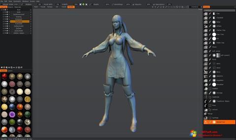 Ekran görüntüsü 3D-Coat Windows 7