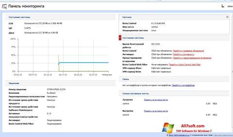 Ekran görüntüsü Kerio Control Windows 7