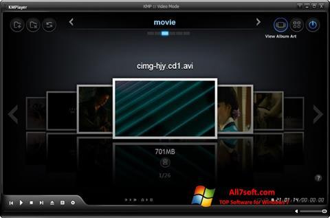 Ekran görüntüsü KMPlayer Windows 7