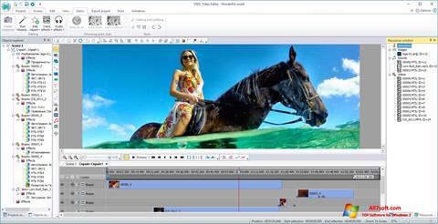Ekran görüntüsü VSDC Free Video Editor Windows 7